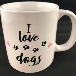 I Love Dogs Ceramic Coffee Tea Mug Cup 12 Ounces